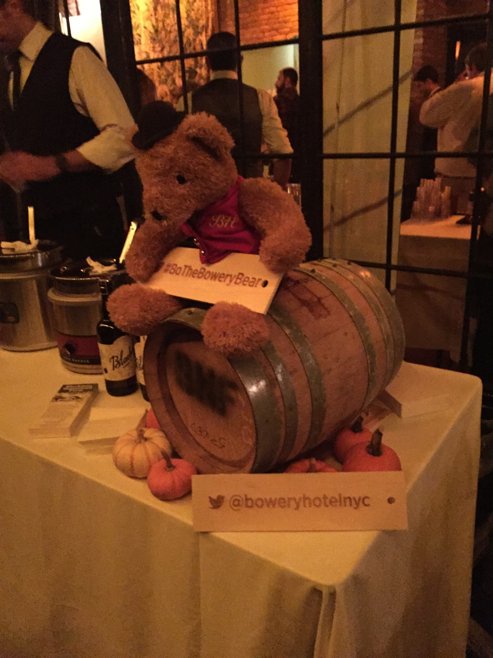 Bo the Bowery Bear