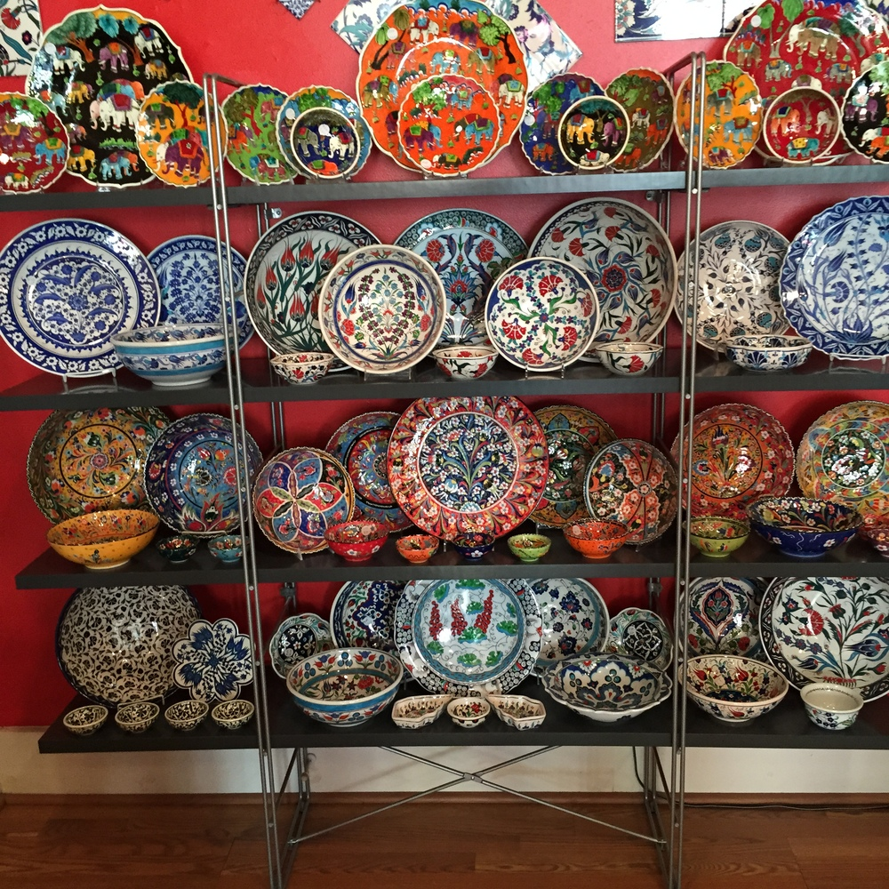 GIFTS: Gorgeous Turkish plates at  Otto