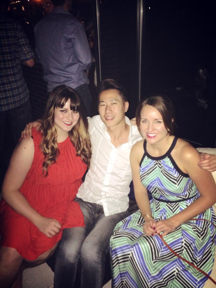 Two of my dearest friends: Warren and Courtney