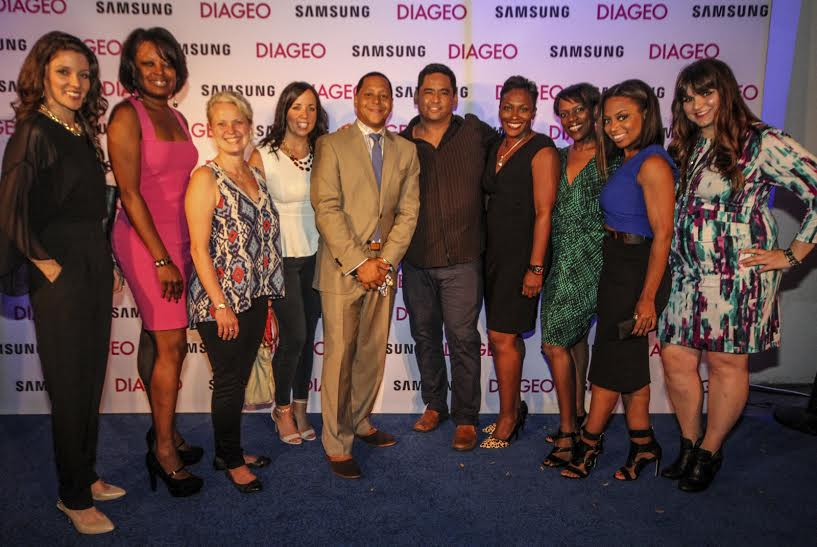 Some of the Diageo Family at the National Black MBA Recruiting Conference
