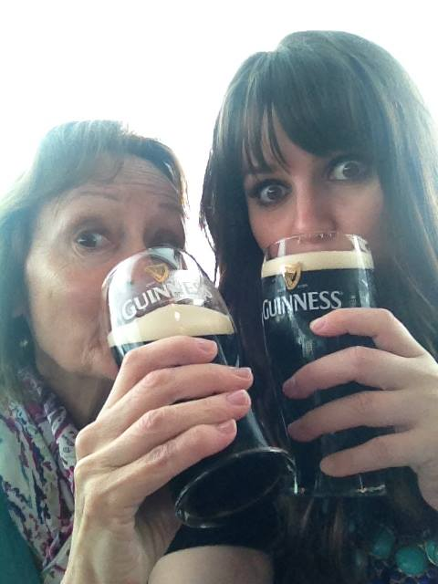 Ireland with Mom