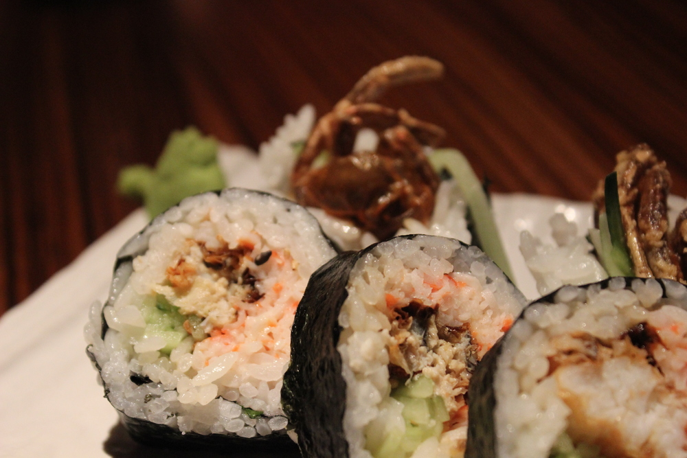 Along came a spider(roll)
