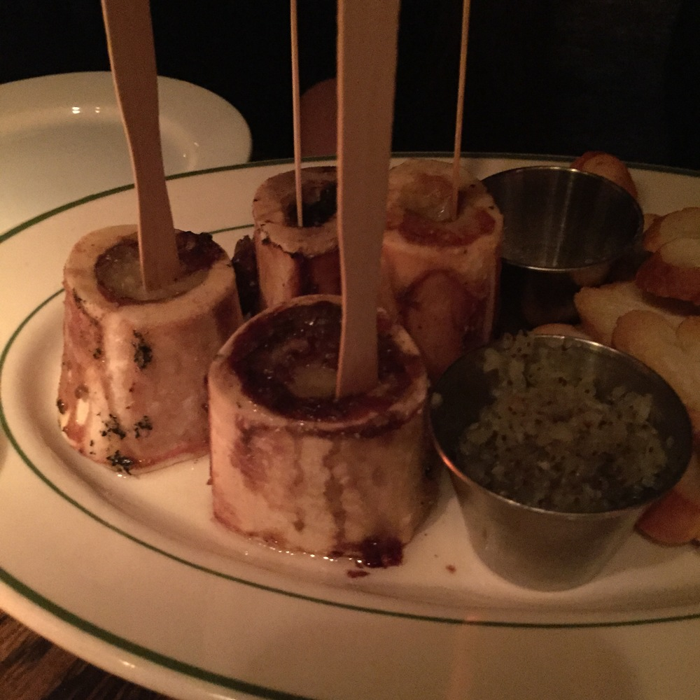 Another angle of the yummy Bone Marrow