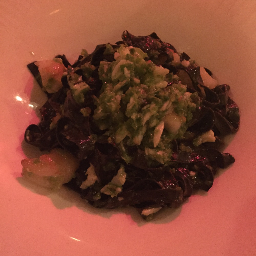 Squid Ink Fettuccini