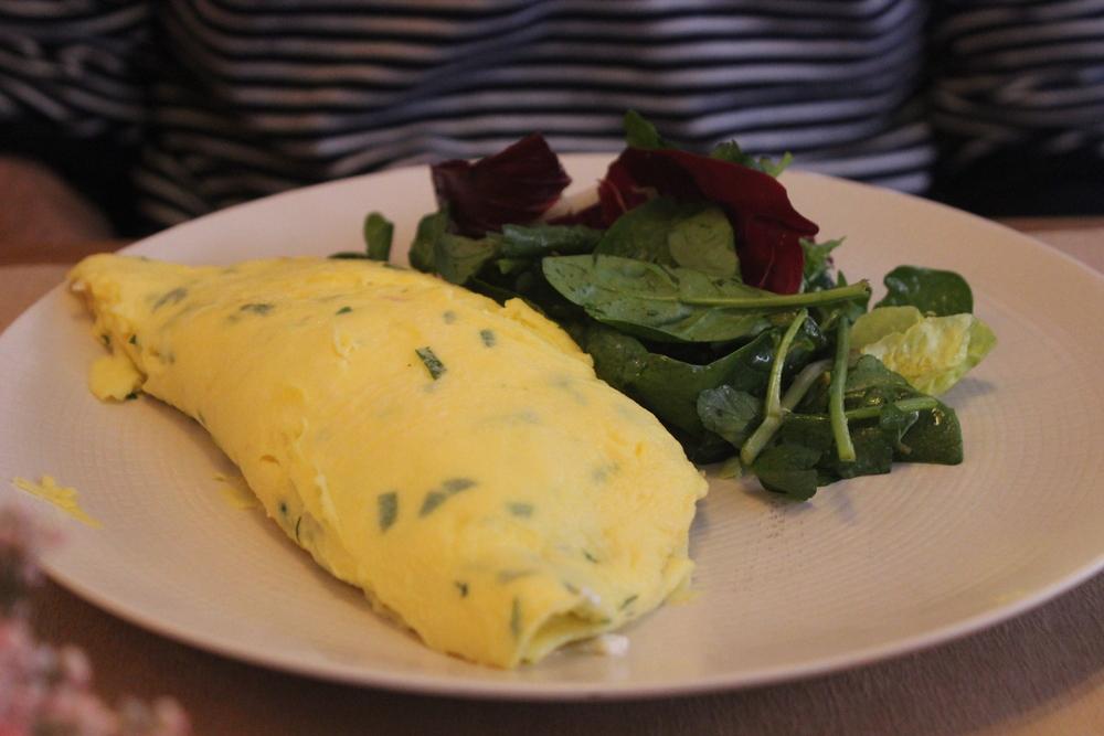 Garden Herb Omelette