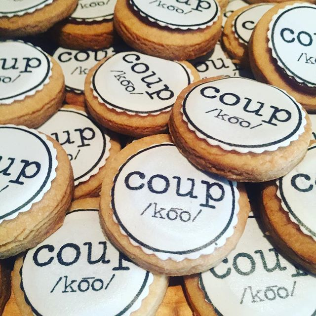 Let's have a coupkie. Thank you @creativedrunk @maxwellsgreenhammer of @coupnyc for your partnership today.