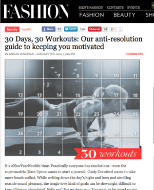 Web story: The anti-resolution workouts: 30 workouts for 30 days to keep exercise fun.
