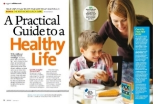 Some tips on getting your kids to adopt your healthy-eating lifestyle.