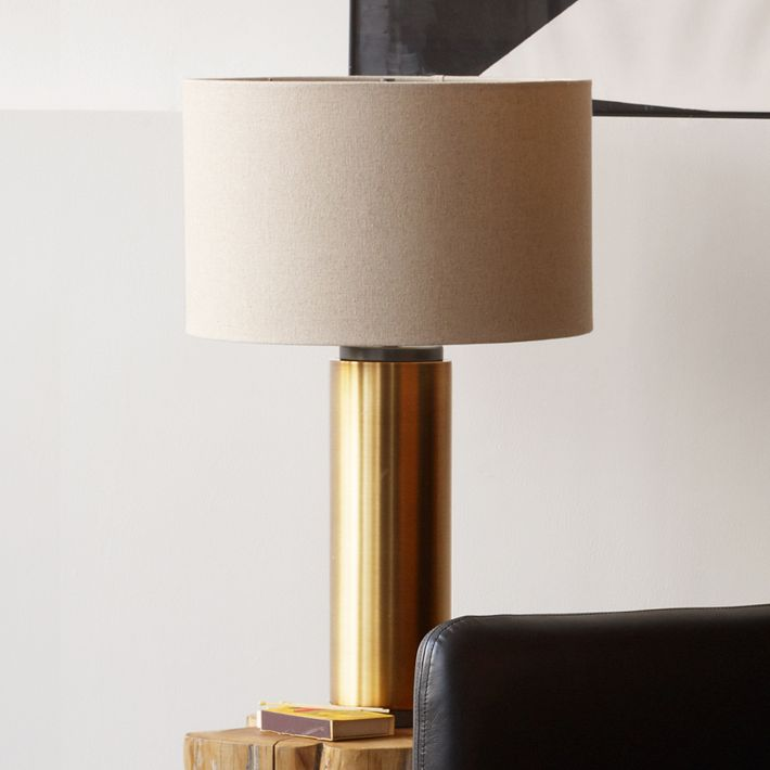 Pillar Table Lamp @ West Elm