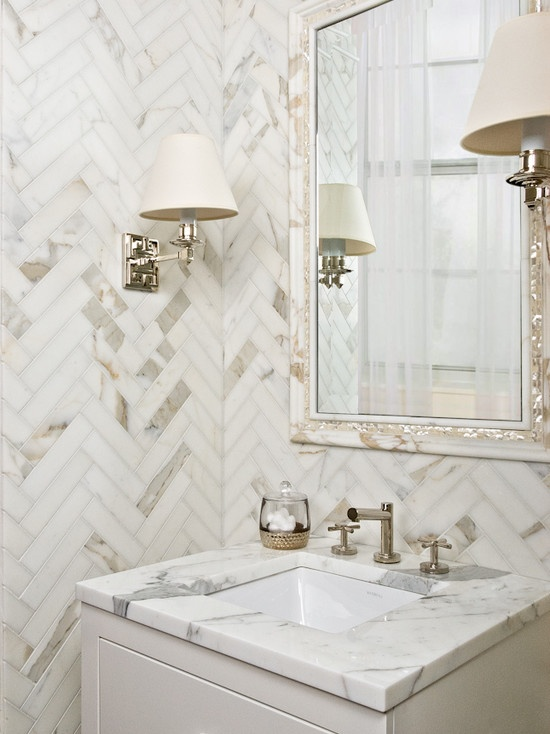Herringbone Bath