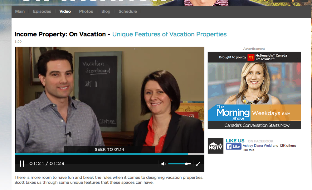 Tips & Tricks online HGTV.ca with Scott McGillivray