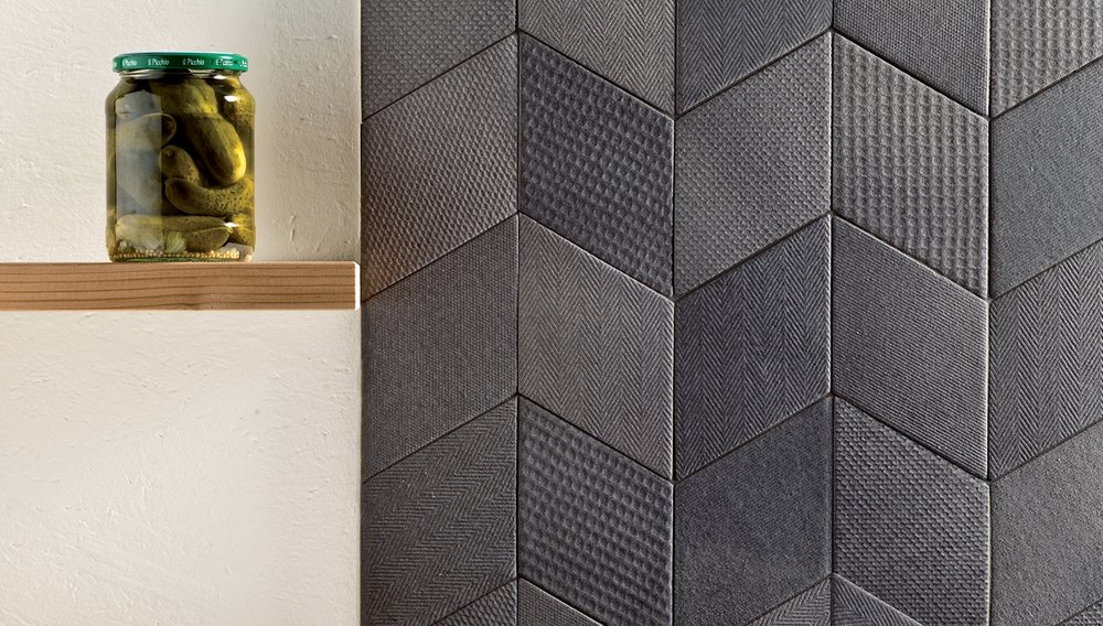 Monochromic is definitely not boring. The textures add depth and character that work well individual but more importantly cohesively    Mutina