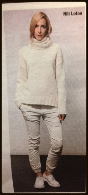 Congrats to one of our favorite designers, Nili Lotan, for her recent feature in WWD!