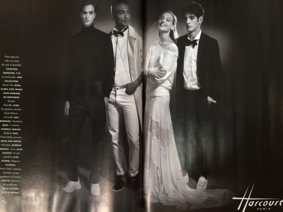 One of our designers, FINE COLLECTION, featured in Elle Paris. Come in to shop this fabulous collection!