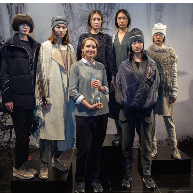 Congratulations to one of our favorite knitwear designers, M. Patmos, for winning the International Woolmark prize for women's wear! This is a huge deal and we are proud to carry the collection at Latrice. Stop in to see her gorgeous Spring/Summer collection.!