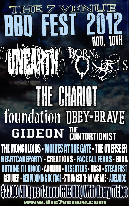 We'll be interviewing Born of Osiris at this show; anyone wanna contribute questions?