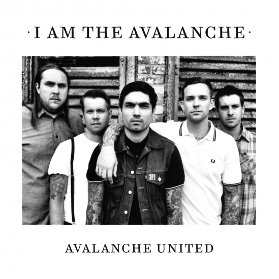 High-resolution version of the new I Am the Avalanche album cover