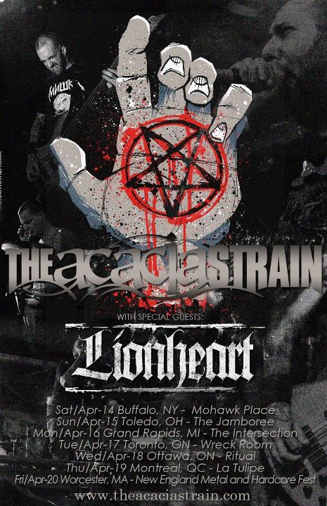 The Acacia Strain announce headlining tour with Lionheart   - Darion