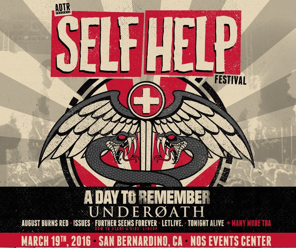 Self Help Festival at the NOS | 96-7 KCAL Rocks!