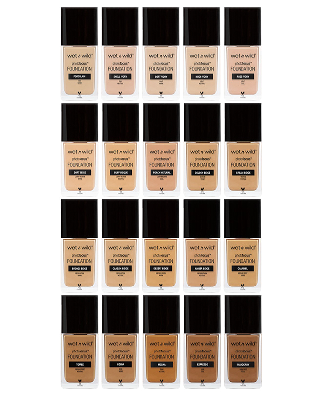 This foundation comes in 20 different shades and beauty guru's can't stop talking about it. The photo focus idea is to make a foundation that can look flawless in various lighting situations, so they tested it in 7 different light situations, with and without flash and ensured this was top notch before releasing. For $6 you can not beat this foundation, and you won't find something that will work as well as this will for that price range.