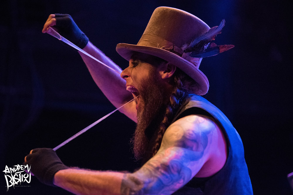 """Bryce """"The Govna"""" Graves of Hellzapoppin Circus Sideshow Revue2/8/18"""
