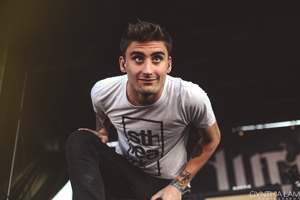 Kyle Pavone | We Came As Romans | by Cynthia Lam