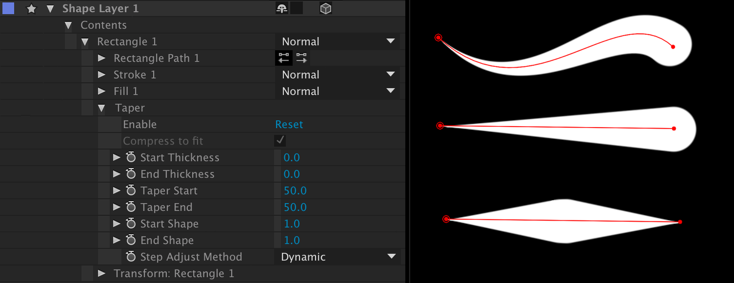 after effects shape layer path to mask