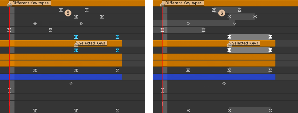 Left: Original   Right: Keyframe Connections