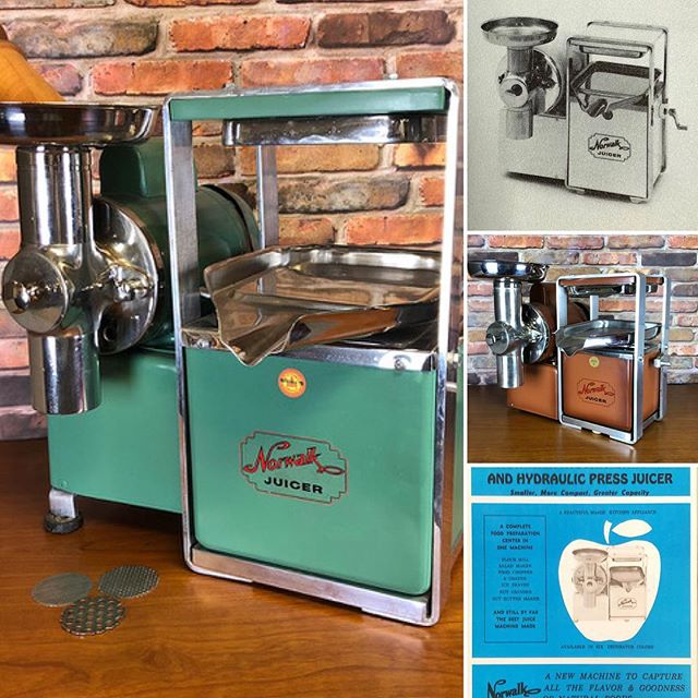 Production models from 1966 - 1970 Norwalk Juicers since 1934 #norwalkjuicer #juicer
