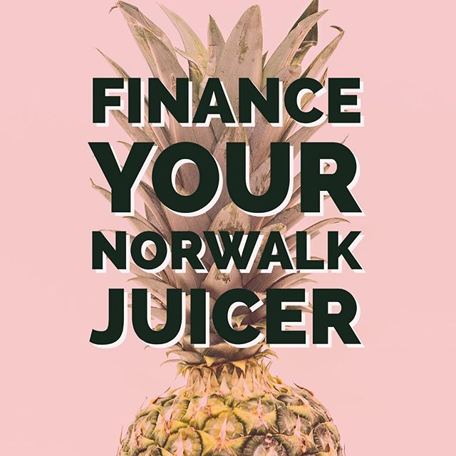 Finance your Norwalk Juicer for less than you spend on your cellphone each month. bit.ly/FinanceNorwalkJuicer #finance #financenorwalk #norwalkjuicer #juiceforlife