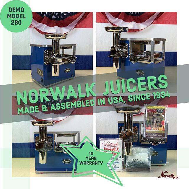 Blue, Norwalk model 280 Demo #norwalkjuicer #norwalk #juiceforlife #juice #healthyfood