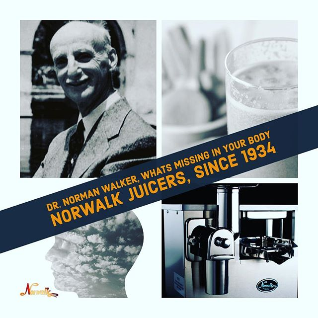 #Dr.NormanWalker #norwalkjuicer #normanwalkercoldpressedjuices #normanwalker #juice #vegetables