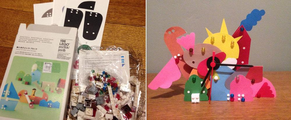 Helen's Japanese Lego clock