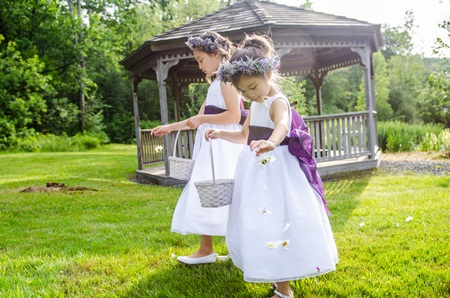 Lizasimon valley flower company white river junction vt white flower girl dresses with purple sashg mightylinksfo