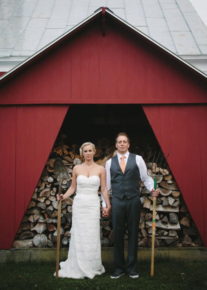 Emily and Jantz (Real Wedding) Photos: Jauhien Sasnou • Venue: Private Home