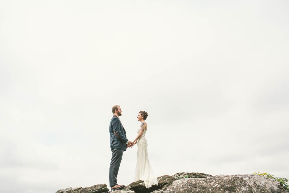 Cath and Charlie (Real Wedding) Photos:Heidi Benjamin Photography• Venue: Salisbury School