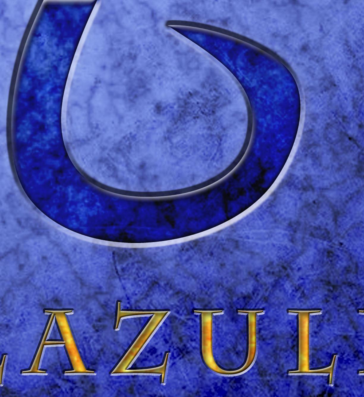 Closeup of lapis lazuli poster