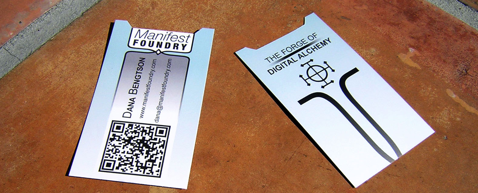 Manifest Foundry Business Cards