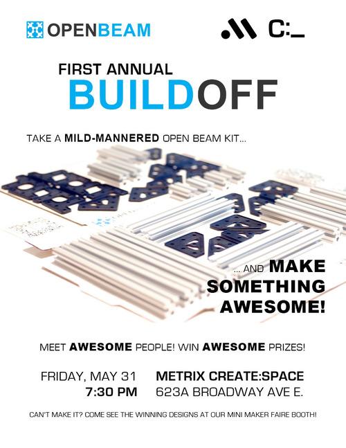 The First Annual OpenBeam Buildoff!