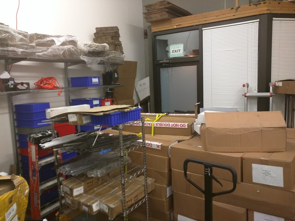 Tens of thousands of dollars worth of inventory, none can be moved because it was missing a fastener pack, a box, etc.