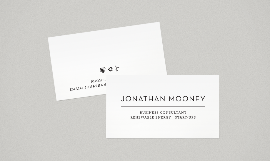 Flight Design Co. | Jonathan Mooney Business Card