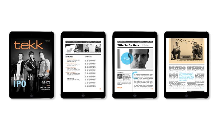 Flight Design Co | Tekk Digital Magazine Concepts