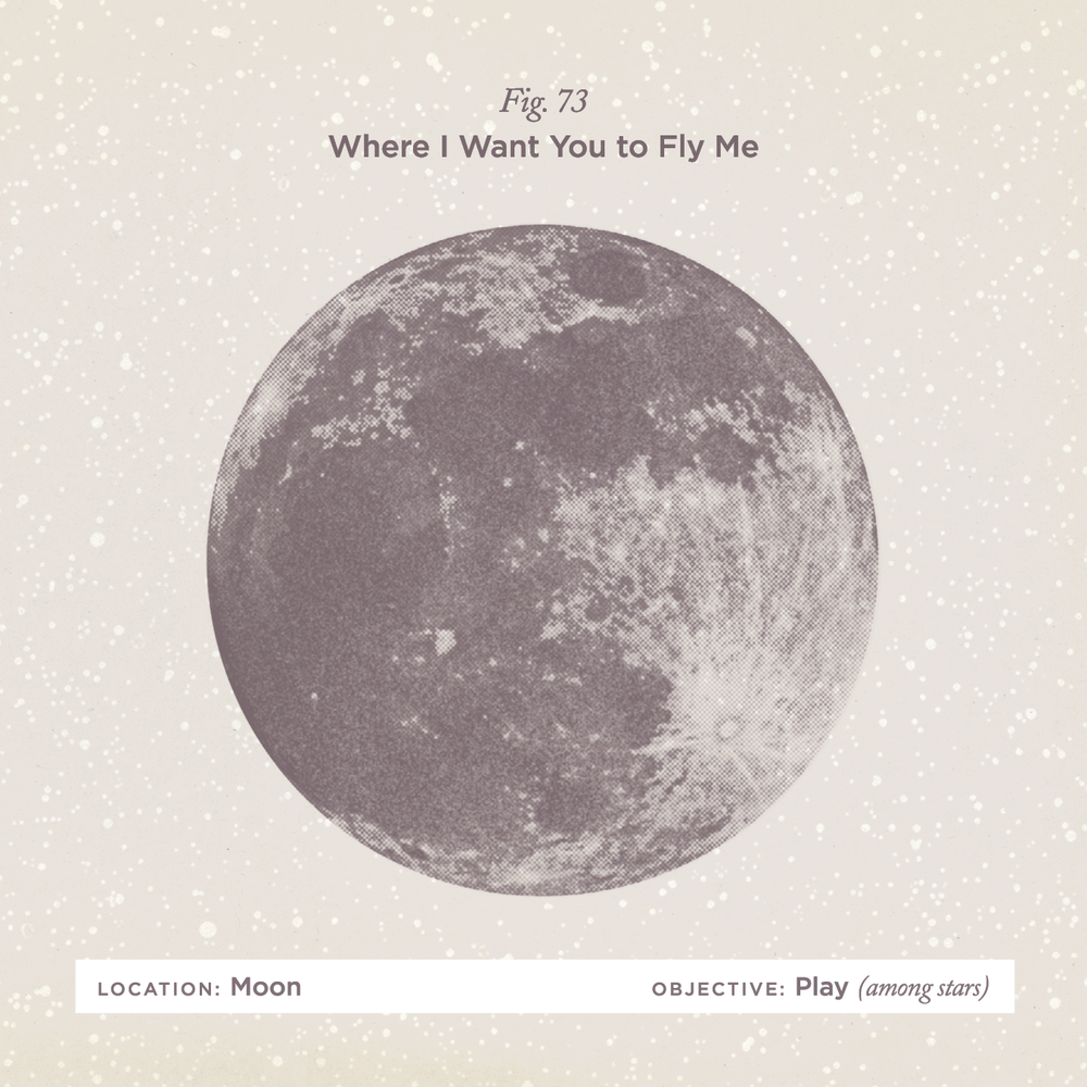 """No. 73 -""""Fly Me to the Moon"""" by Astrud Gilberto"""