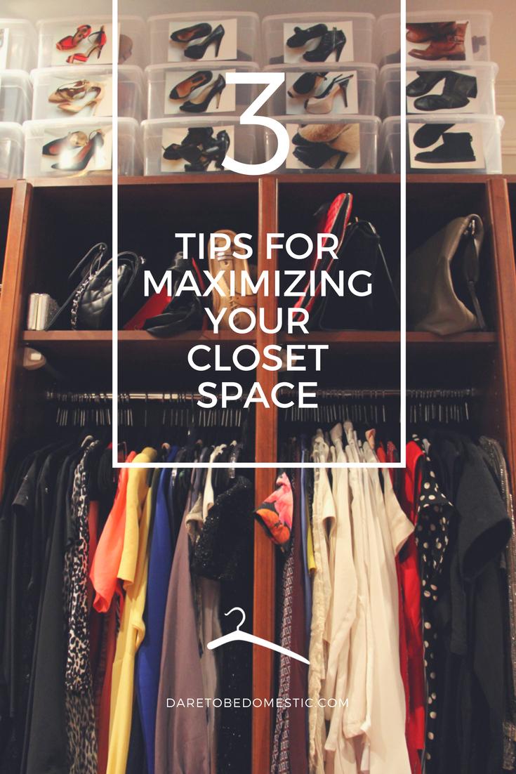 3 closet tips