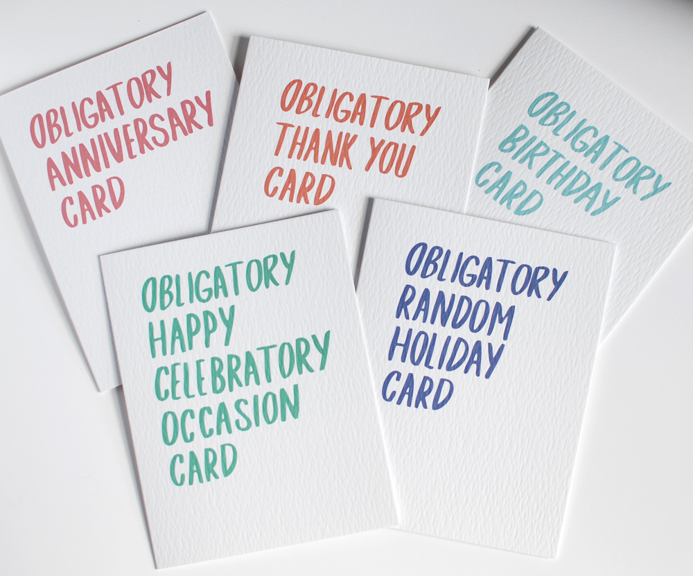 Obligatory Cards