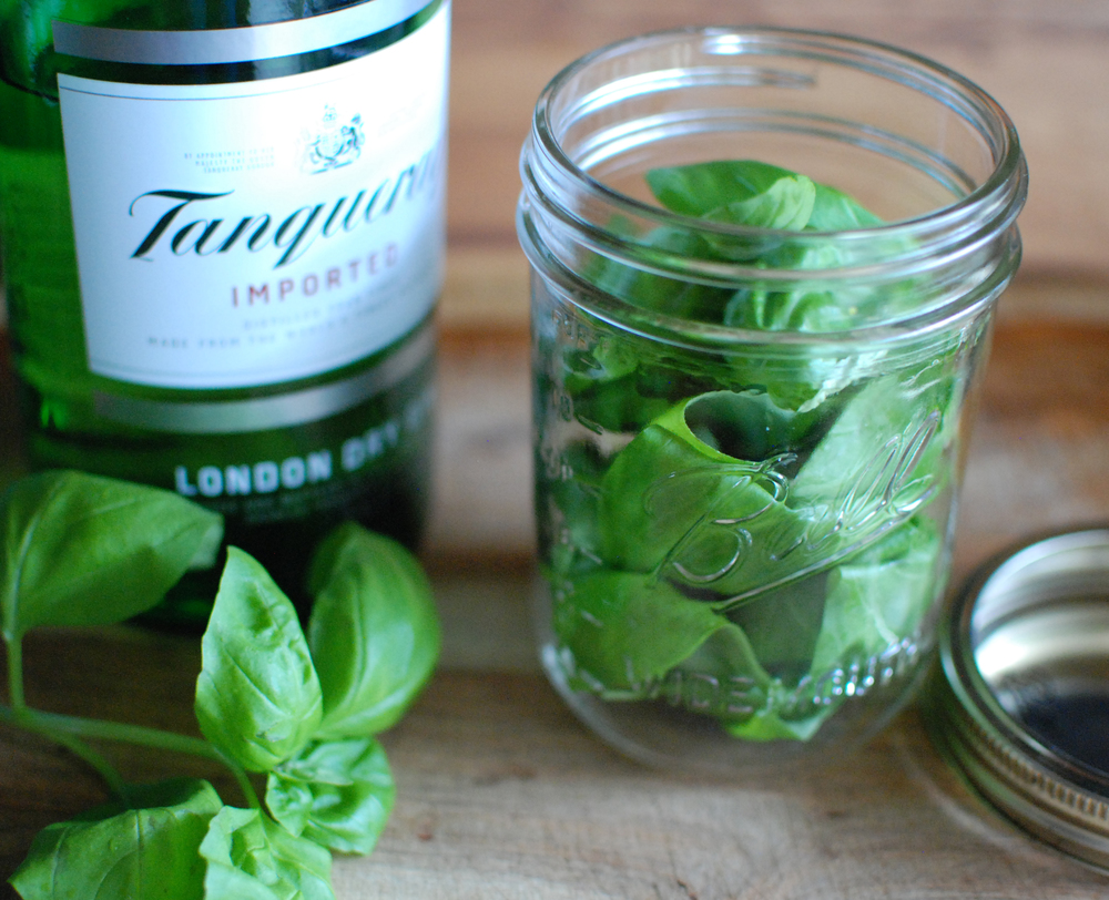 Basil Infused Gin