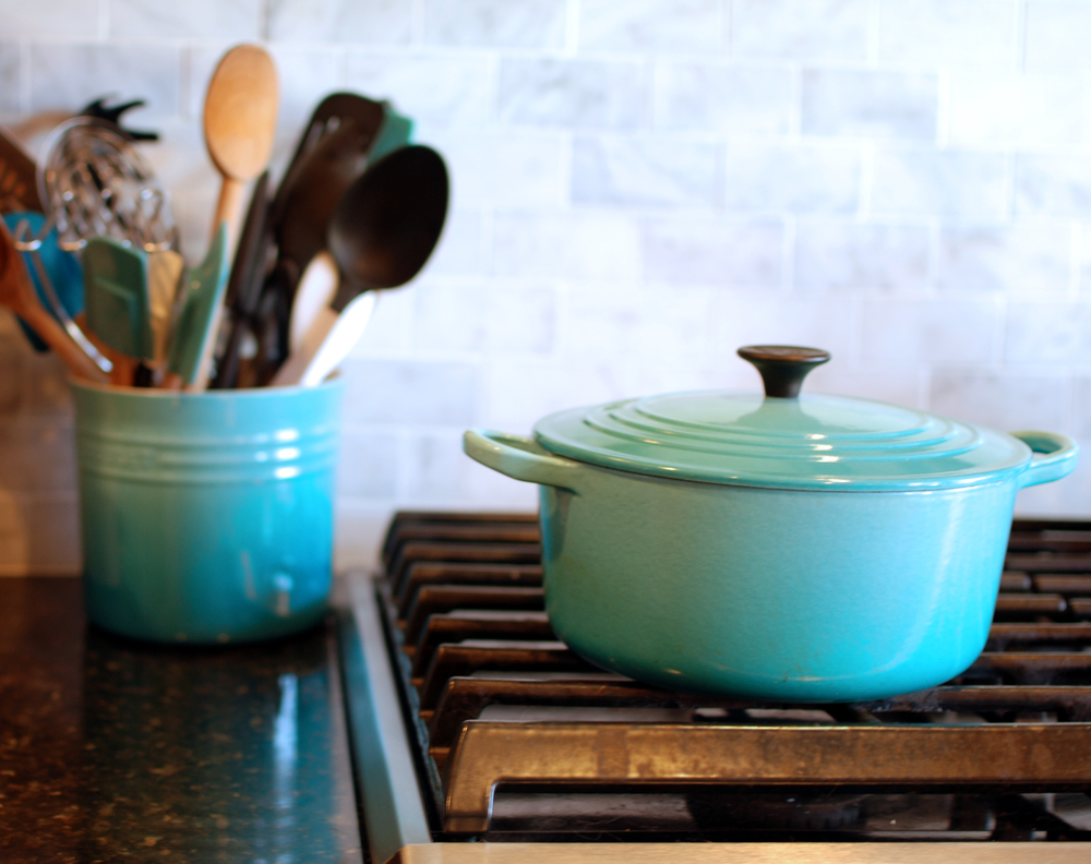 Turquoise Le Creuset