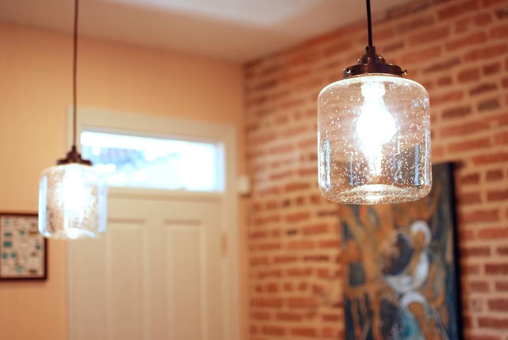Bubble Glass Pendant Lights