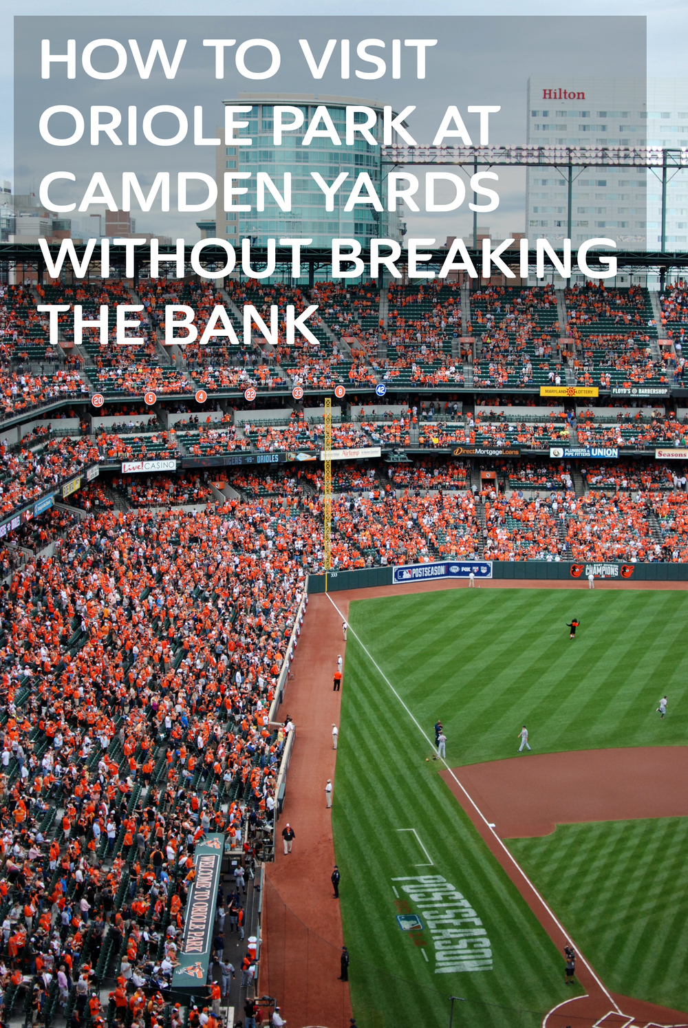 Visiting Oriole Park on a Budget