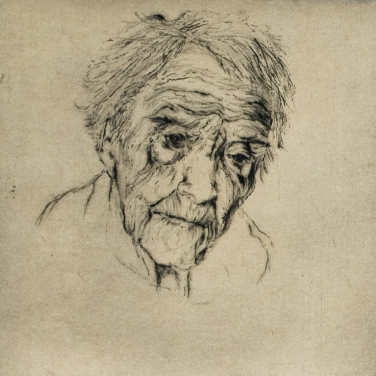 Great Grandma study I